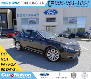 2013 Lincoln MKS   AWD   NAV   PWR HTD LEATHER   PANO ROOF   Sedan