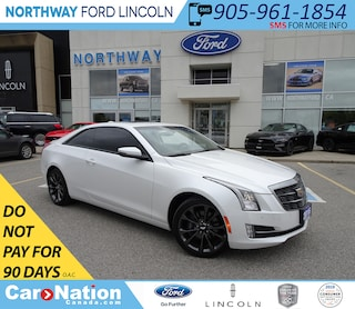 2016 CADILLAC ATS Luxury | AWD | NAV | HTD LEATHER | SUNROOF | TURBO Coupe