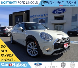 2018 MINI Clubman Cooper S | AWD | PWR HTD LEATHER | PANO ROOF | Wagon