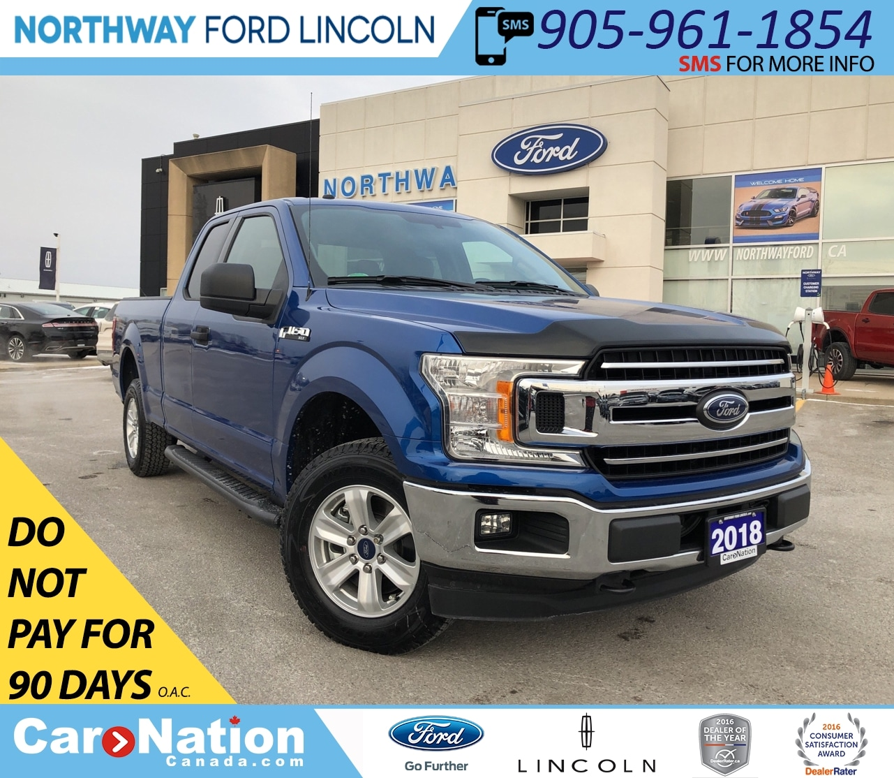 2018 Ford F-150 XLT 300A | 5.0L V8 | SUPERCAB | TOW PACK | Truck