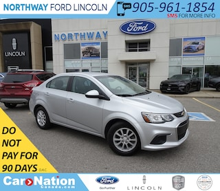 2018 Chevrolet Sonic LT | KEYLESS ENTRY | BACKUP CAM | TOUCH SCREEN | Sedan