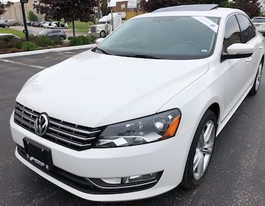 2014 Volkswagen Passat 2.0 TDI Comfortline LEATHER SUNROOF NO ACCIDENTS ! Sedan