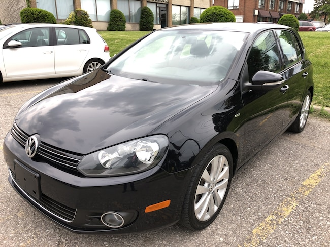 2013 Volkswagen Golf Wolfsburg Edition 6 SPEED  2.0 TDI (M6) Hatchback