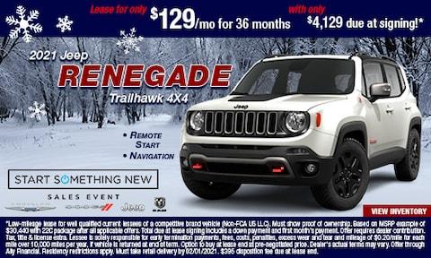 Jan- 2021 Jeep Renegade Trailhawk 4X4