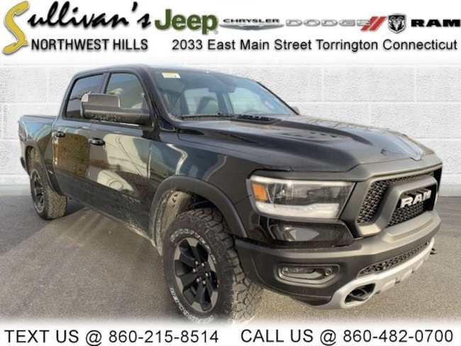 DYNAMIC_PREF_LABEL_AUTO_NEW_DETAILS_INVENTORY_DETAIL1_ALTATTRIBUTEBEFORE 2019 Ram 1500 REBEL CREW CAB 4X4 5'7 BOX Crew Cab for sale in Torrington CT