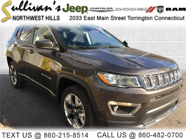 DYNAMIC_PREF_LABEL_AUTO_NEW_DETAILS_INVENTORY_DETAIL1_ALTATTRIBUTEBEFORE 2019 Jeep Compass LIMITED 4X4 Sport Utility for sale in Torrington CT