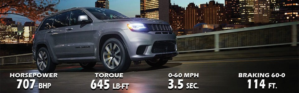 All-New 2018 Jeep Grand Cherokee Trackhawk for sale