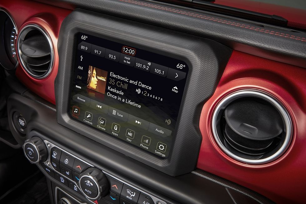 New Inside Features On The 2018 Jeep Wrangler