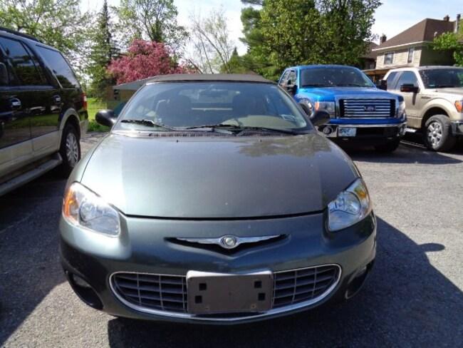 2002 Chrysler Sebring LXi Convertible
