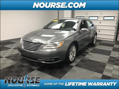 Used 2013 Chrysler 200 For Sale at Nourse Chillicothe