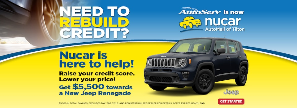 Need to Rebuild Credit?