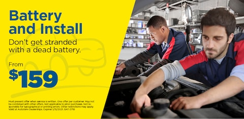 Battery and Install