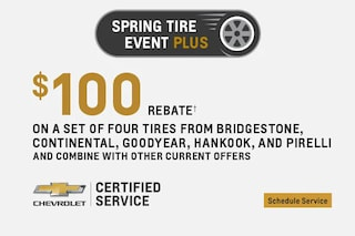 Service $100 Tire Rebate