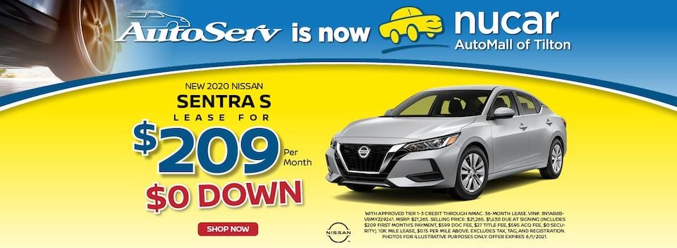 2021 Nissan Sentra May Special