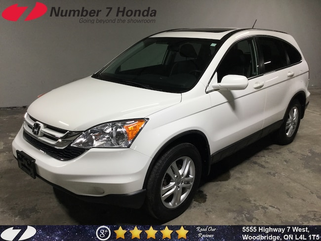 2011 Honda CR-V EX-L|AS-IS| Leather, Sunroof, All-Wheel Drive! SUV