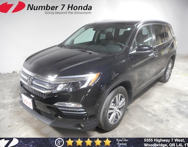 2017 Honda Pilot EX-L| Navi, Leather, Backup Cam! SUV