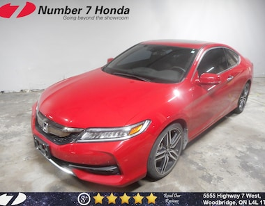 2016 Honda Accord Touring| Loaded Options, Leather, 6-Speed Manual! Coupe
