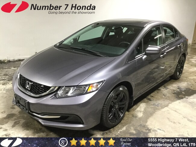 2014 Honda Civic EX| Backup Cam, Sunroof, Extra Wheels Set! Sedan