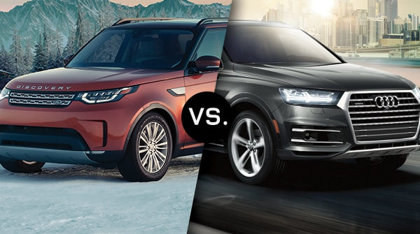 Comparison: 2019 Land Rover Discovery vs 2019 Audi Q7