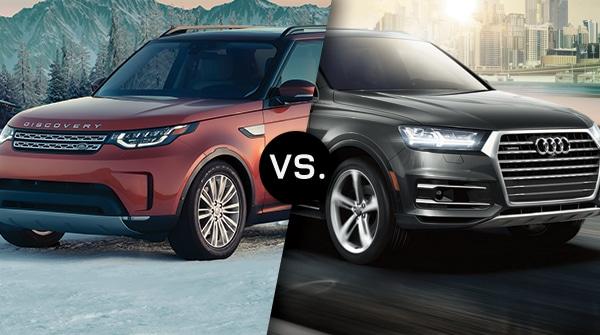Comparison: 2019 Land Rover Discovery vs 2019 Audi Q7