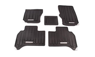 Land Rover All-Weather Rubber Floor Mats