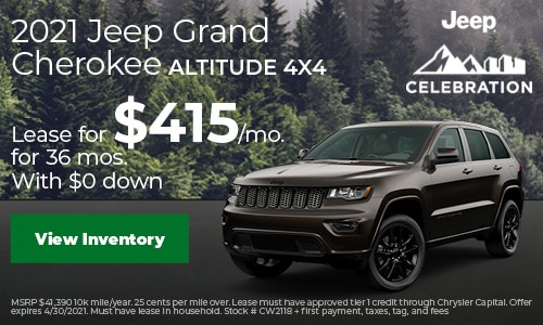 2021 Jeep Grand Cherokee Altitude 4x4
