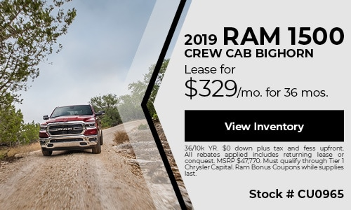 2019 Ram 1500 Crew Cab Bighorn