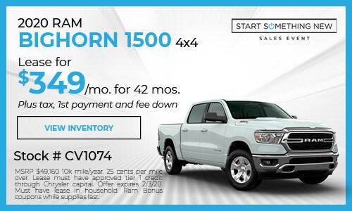 2020 Ram Bighorn 1500
