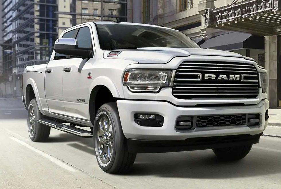 2019 RAM 2500 Payload Capacity