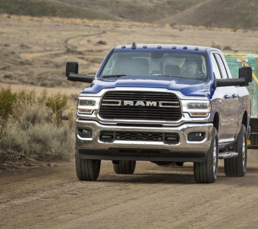 2019 RAM 2500 Towing Capacity