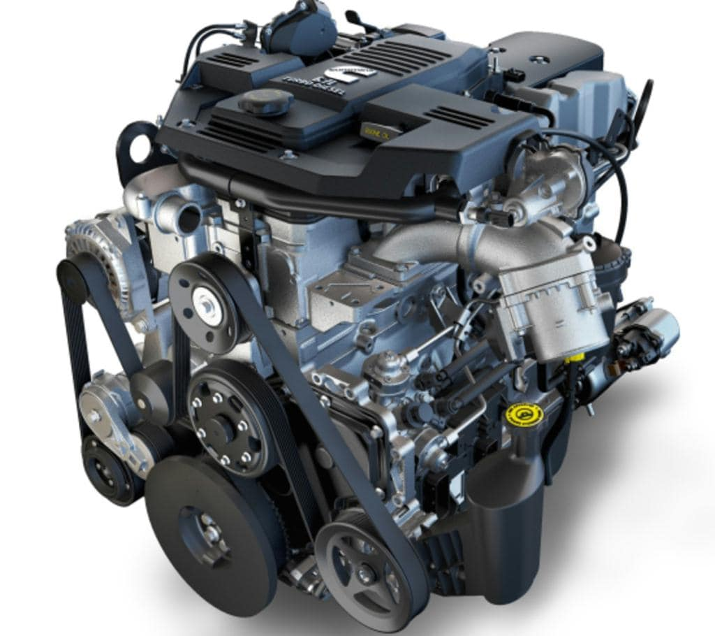 6.7L Cummins Turbo Diesel I6 Engine