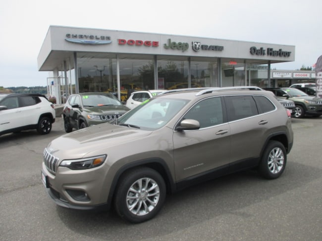 New 2019 Jeep Cherokee LATITUDE FWD Sport Utility in Oak Harbor
