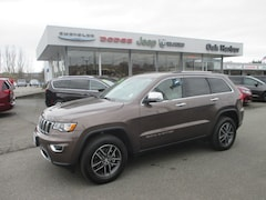 2018 Jeep Grand Cherokee LIMITED 4X4 INc: $500 Military Rebate Sport Utility