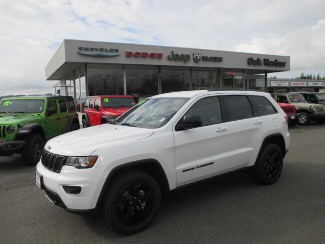 New 2018 Jeep Grand Cherokee UPLAND 4X4 Sport Utility in Oak Harbor