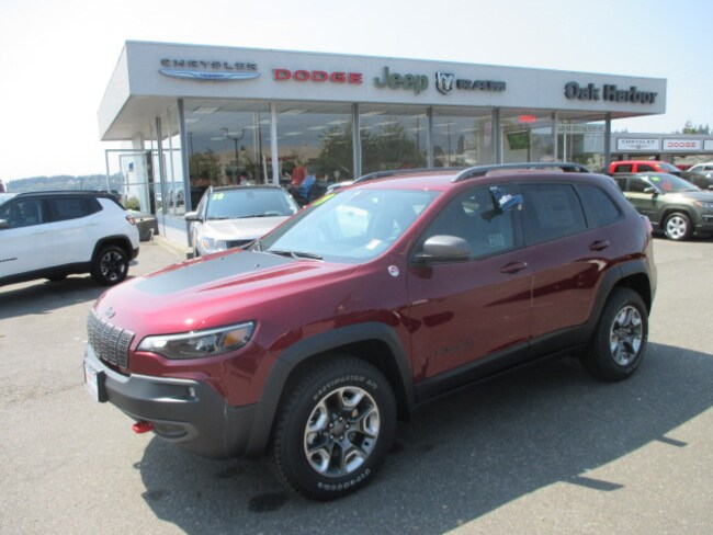 New 2019 Jeep Cherokee TRAILHAWK ELITE 4X4 Inc: $500 Military Rebate Sport Utility in Oak Harbor