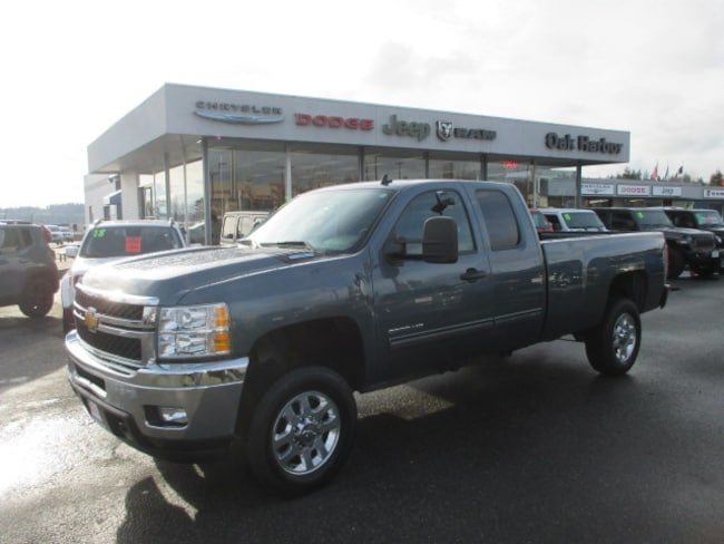 Used 2012 Chevrolet Silverado 2500HD LT 4WD Extended Cab Truck Extended Cab in Oak Harbor