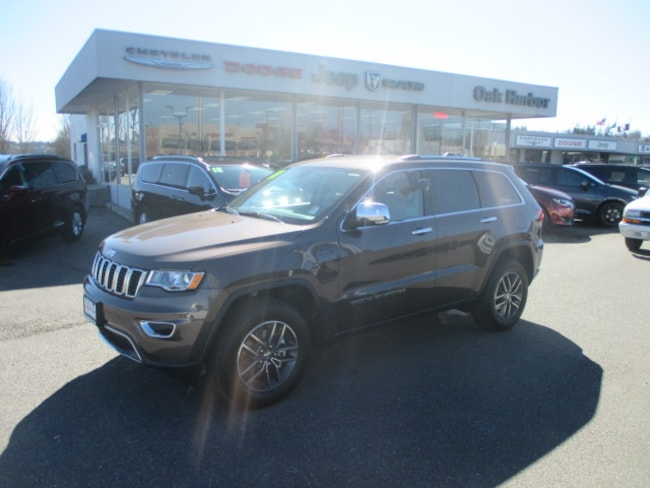 New 2018 Jeep Grand Cherokee LIMITED 4X4 Sport Utility in Oak Harbor