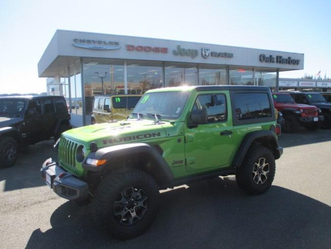 New 2019 Jeep Wrangler RUBICON 4X4 Sport Utility in Oak Harbor