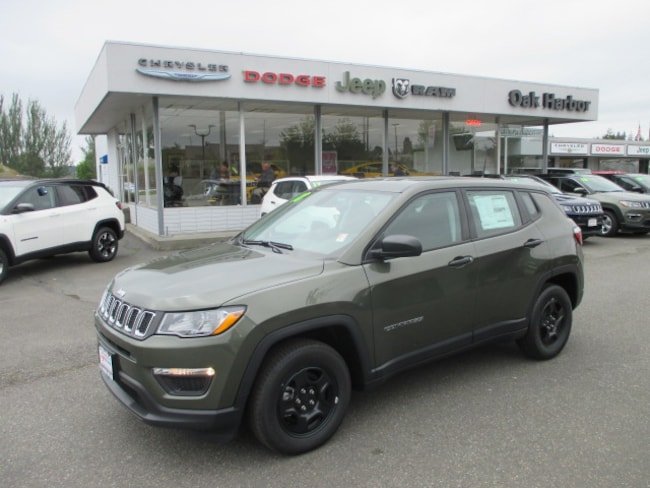 New 2018 Jeep Compass SPORT FWD Sport Utility in Oak Harbor