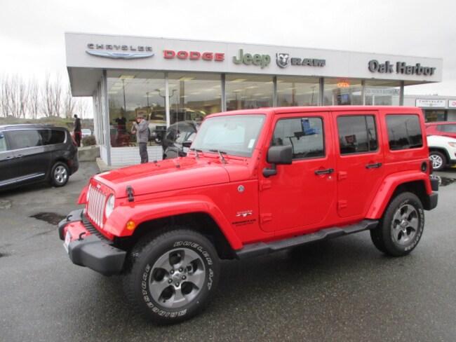 Used 2016 Jeep Wrangler JK Unlimited Sahara 4x4 SUV in Oak Harbor