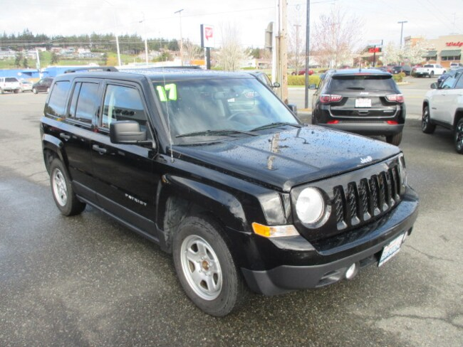 Used 2017 Jeep Patriot Sport Fwd For Sale In Oak Harbor Wa