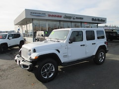 2018 Jeep Wrangler UNLIMITED SAHARA 4X4 Inc: $500 Military Rebate Sport Utility