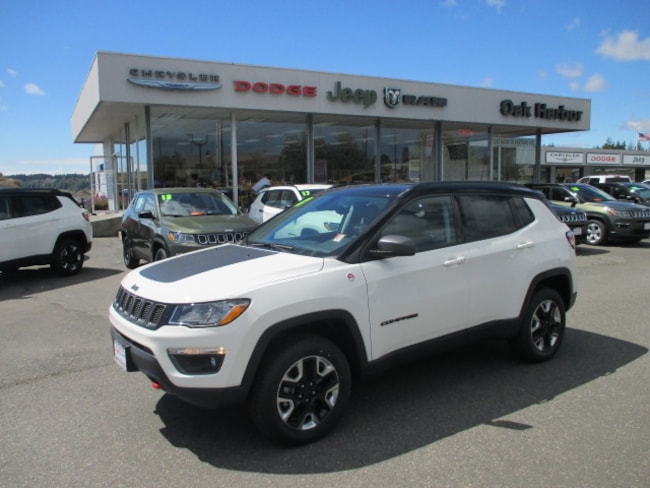 New 2018 Jeep Compass TRAILHAWK 4X4 Inc: $500 Military Rebate Sport Utility in Oak Harbor