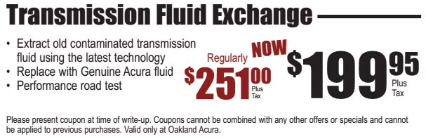 Oakland Acura New Acura Dealership In Oakland CA - Acura coupons
