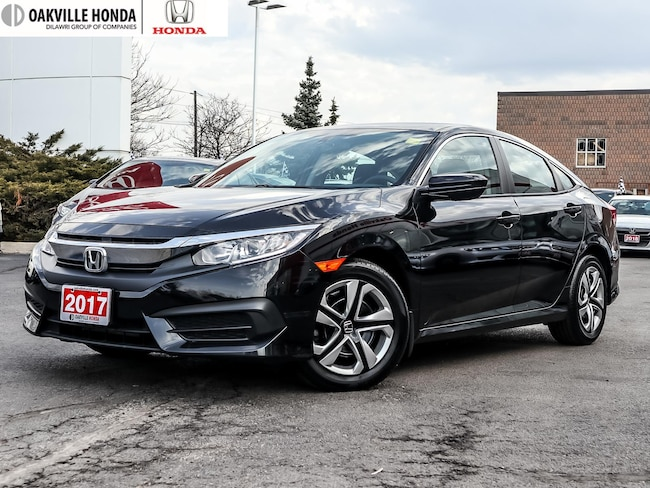 2017 Honda Civic Sedan LX 6MT 1-Owner|Clean Carfax|Back-Up Camera|A Sedan