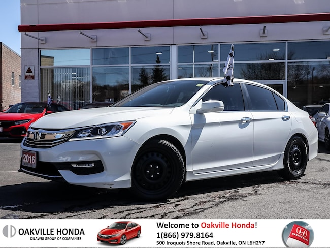2016 Honda Accord Sedan L4 Sport CVT 1owner|Cleancarfax|Sunroof|Blin Sedan