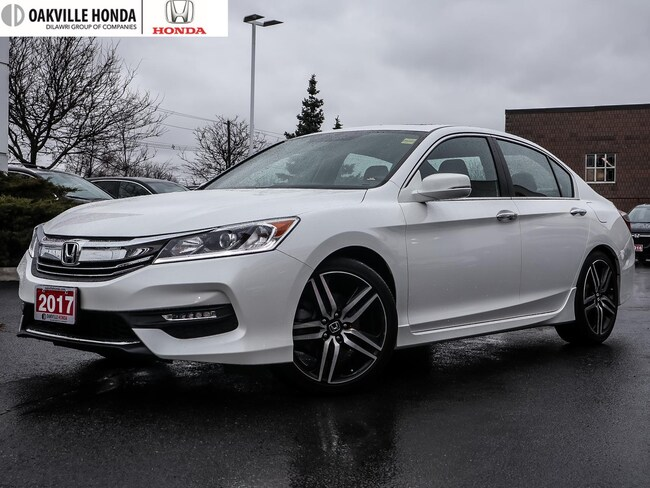 2017 Honda Accord Sedan L4 Sport CVT 1-Owner|Clean Carfax|Remote Sta Sedan