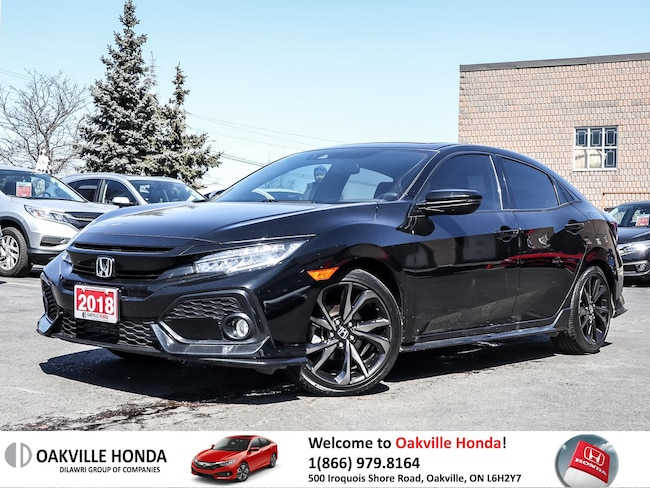 2018 Honda Civic Hatchback Sport Touring HS 6MT 1owner|Cleancarfax| Hatchback