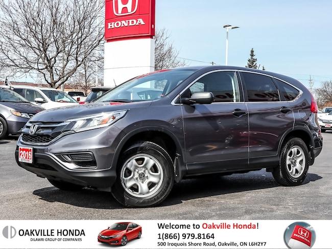 2016 Honda CR-V LX AWD 1-Owner Clean Carfax Bluetooth Back-Up Came SUV