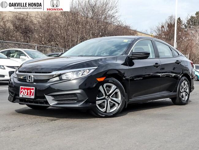 2017 Honda Civic Sedan LX 6MT 1-Owner|Clean Carfax|Back-Up Camera|B Sedan